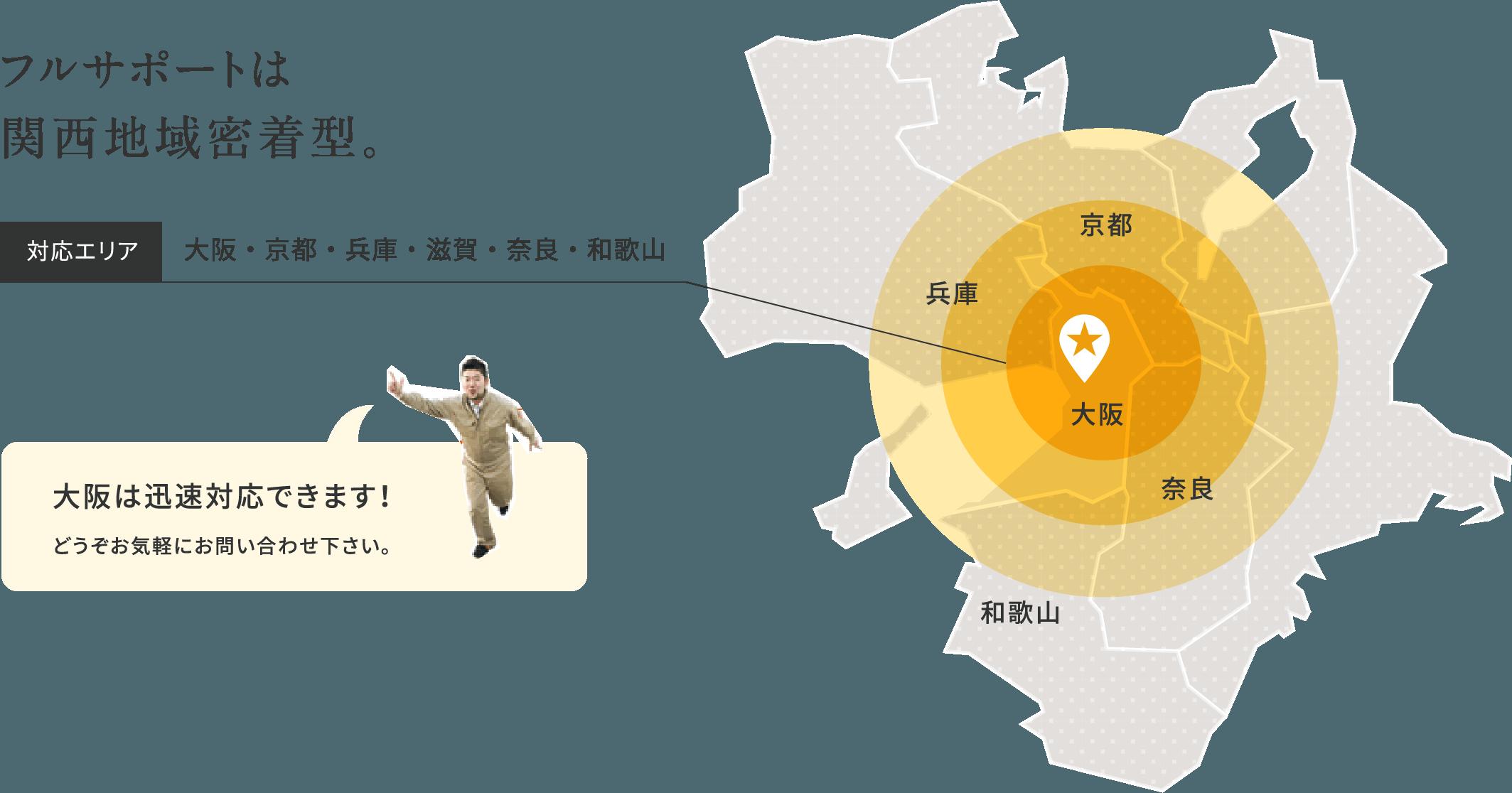 Area 対応エリア